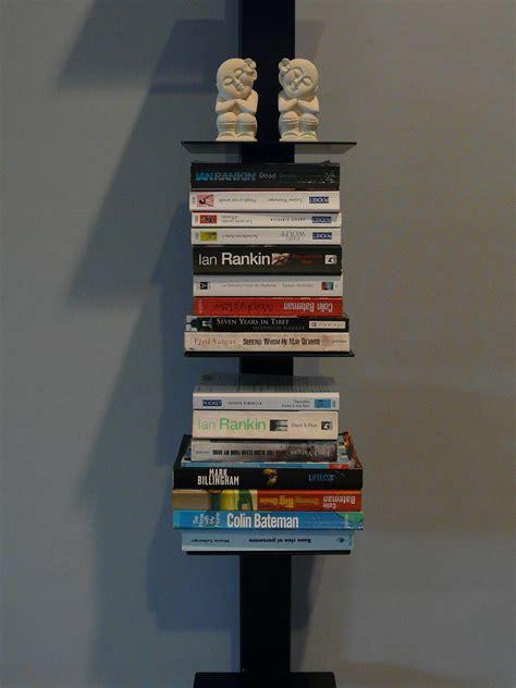 designer vertical bookshelf felt