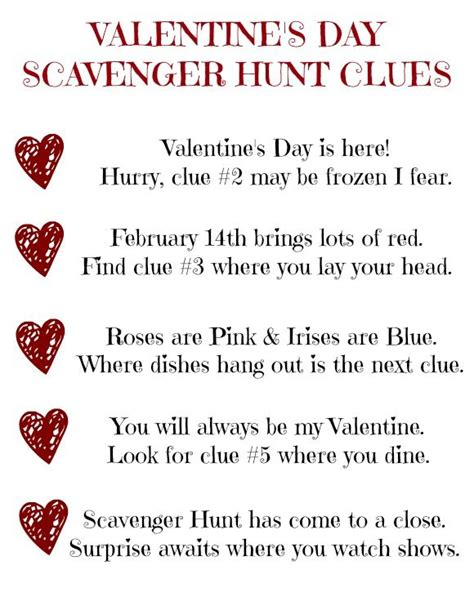 best 25 scavenger hunt ideas on