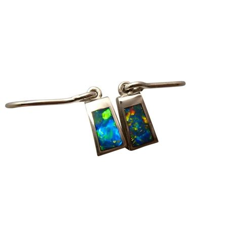 turquoise opal earrings 100 turquoise opal earrings gold solid opal