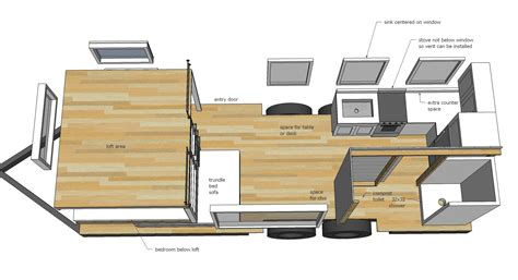 free tiny house floor plans ana white quartz tiny house free tiny house plans diy projects