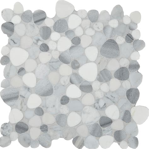 Pebble natural stone mosaics tile arizona tile