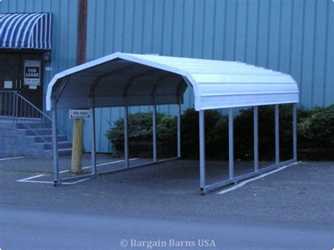 Single Car Carport Size Single Wide Carports