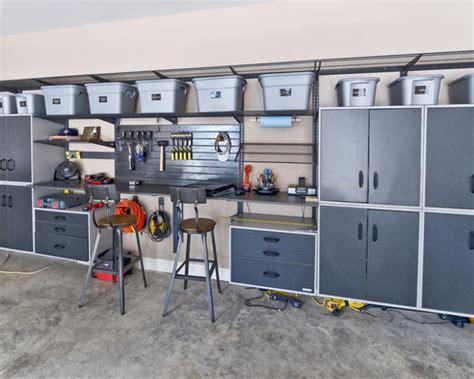 For a large contemporary garage workshop remodel in cincinnati