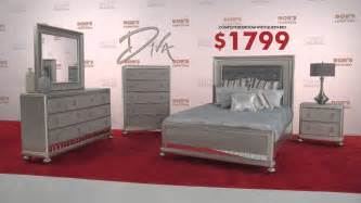Bobs Bedroom Furniture The Diva Bedroom Set Walks The Red Carpet Bob S Discount