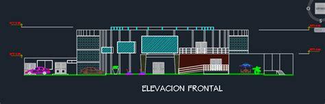nightclub bar disco  dwg design plan  autocad