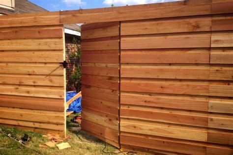 Horizontal Wood Fence Design Horizontal Fence Plans Designs Roof Fence Futons