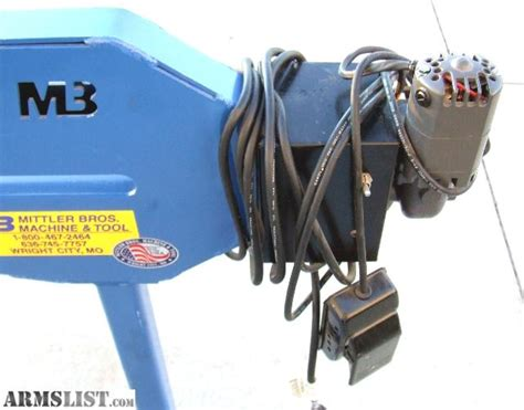 mittler brothers bead roller for sale armslist for sale trade mittler brothers electric bead