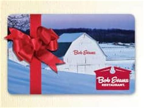 savings lifestyle - Bob Evans Gift Cards