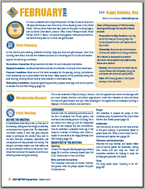 Cub Scout Newsletter Templates Free 28 Images Newsletter 2 2 15 Cub Scout Pack 845 Roswell Bsa Newsletter Template