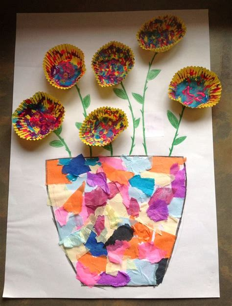 Cupcake Paper Crafts - best 25 cupcake liner crafts ideas on