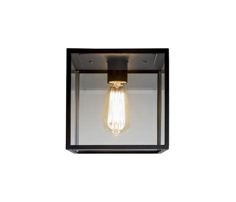 Box Ceiling Light by Box Ceiling Light Black General Lighting From Astro
