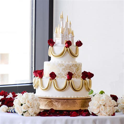 Disney Wedding Cake by Gorgeous Disney Themed Wedding Cakes For That Happily