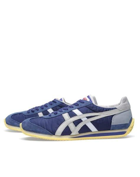 Onitsuka Tiger Blue Silver onitsuka tiger california 78 light blue silver sneakers
