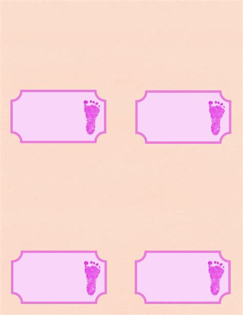 baby shower place card template free placecards for baby shower free templates and