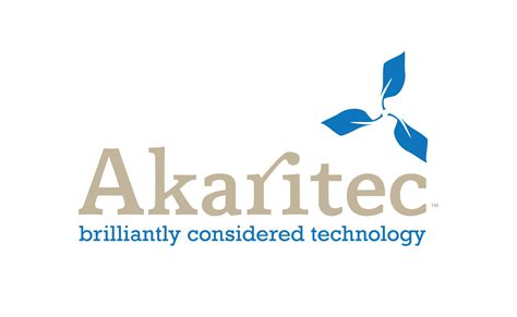 design logo and slogan akaritec an identity system logos and corporate