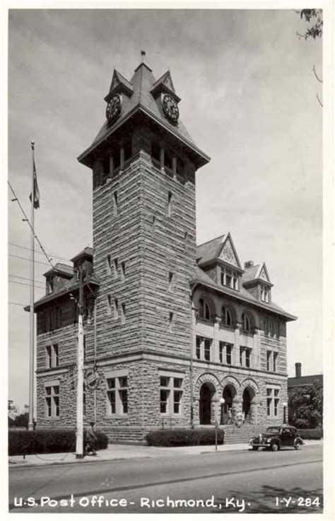 Post Office Richmond Ky by Courthousehistory A Historical Look At Out Nation S