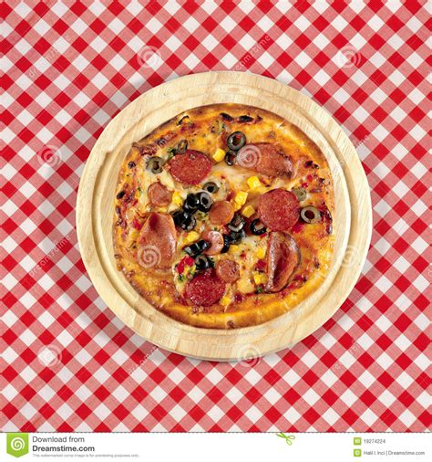 table pizza pizza on table stock images image 19274224