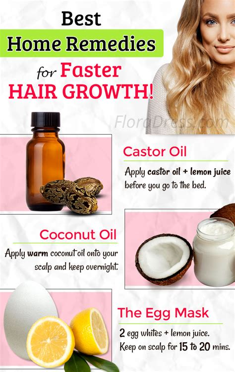 best home remedies for faster hair growth tips and