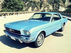 1965 Ford Mustang Coupe 1965 Ford Mustang Silodrome