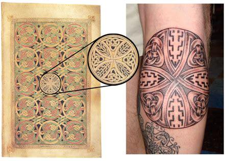 illuminated manuscript tattoos luckyfish inc and