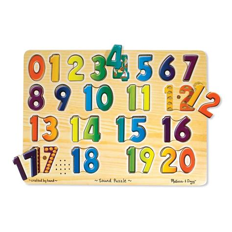 Puzzle Number numbers sound puzzle learning educational toys planet