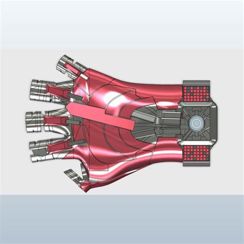 iron man glove model project iroman