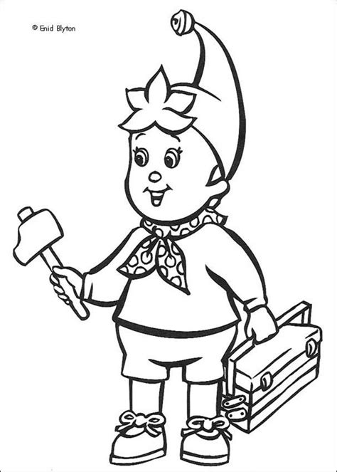 noddy coloring pages online handyman noddy coloring pages hellokids com