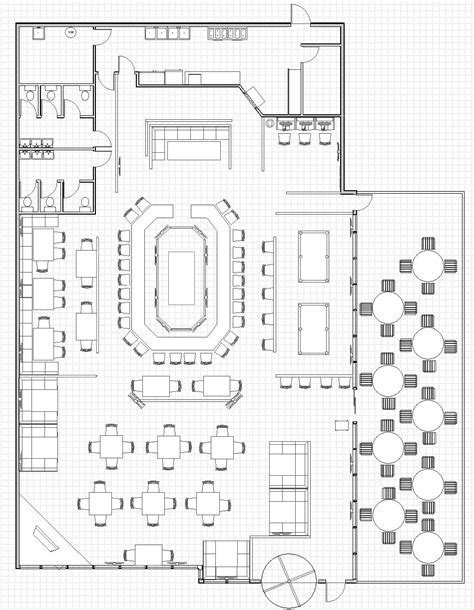 floor plan restaurant kitchen restaurant floor plan plan pinterest restaurants