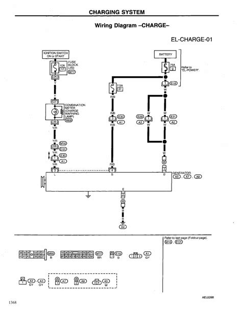 charging system wiring diagram repair guides engine electrical 1999 charging