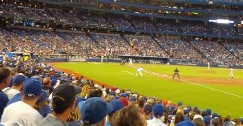 rogers centre section 114 toronto blue jays