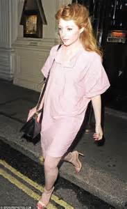 nicola roberts looks ghostly white in a light coloured shirtdress during night out daily mail