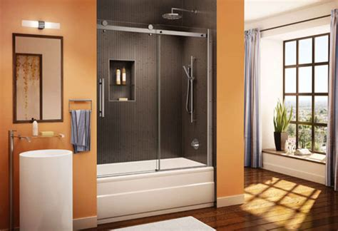 bathroom sliding glass shower doors sliding shower doors frameless sliding glass bathroom doors