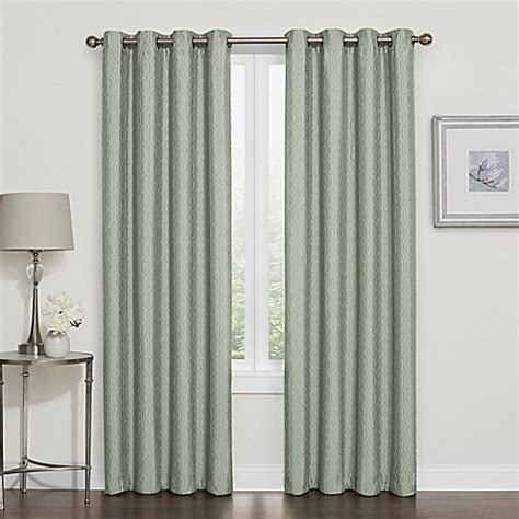 Bed Bath Beyond Window Curtains Darcy Blackout Grommet Top Window Curtain Panel Bed Bath