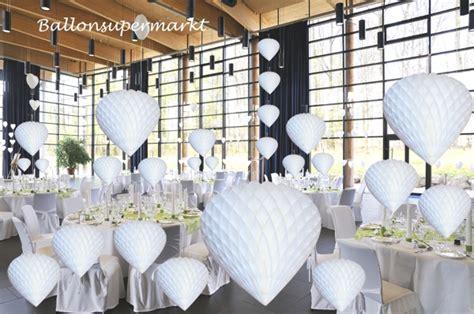 Deckendeko Hochzeit by Ballonsupermarkt Onlineshop De Wabenherz Wei 223