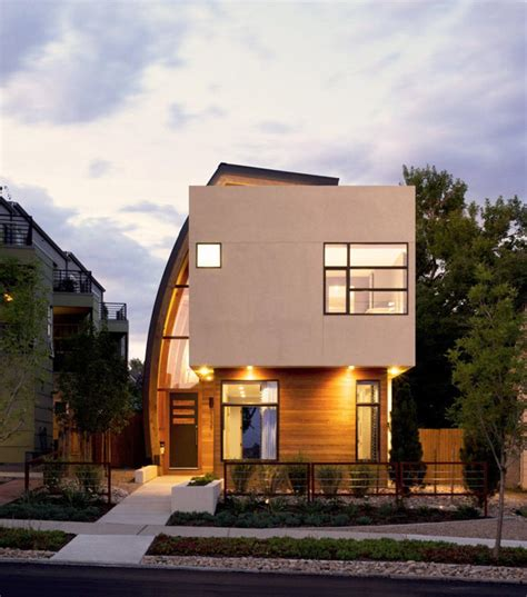 Home Design Denver | irregularly shaped modern residence in denver colorado