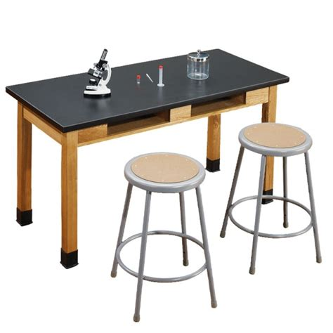 Worktop Table Lab 03 Phenolic Resin Panel science tables phenolic top panels solid black material bakagain