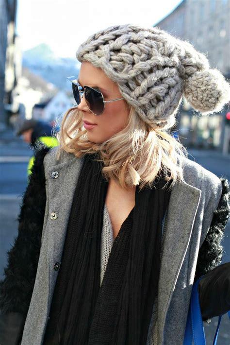 chunky knit hat chunky knit hats my style