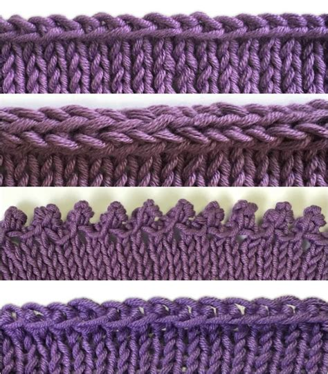 how to bind in knitting how to bind knitting tutorials for 4 different bind offs