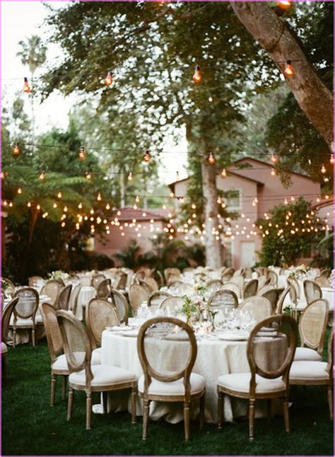 Inexpensive Backyard Wedding Ideas Cheap Backyard Wedding Reception Ideas Home Design Ideas