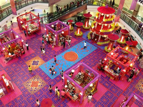 new year decorations shopping mall year of the skyscrapercity