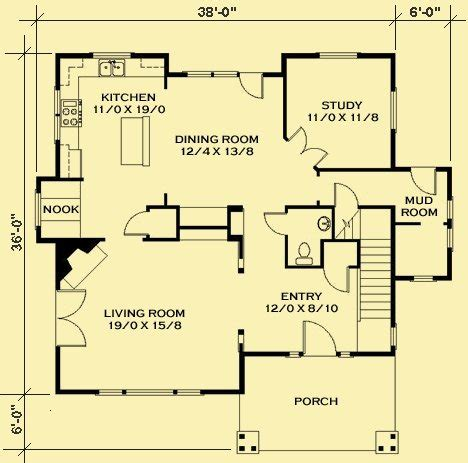 cottage floor plan one room christian cabin plans joy studio design gallery