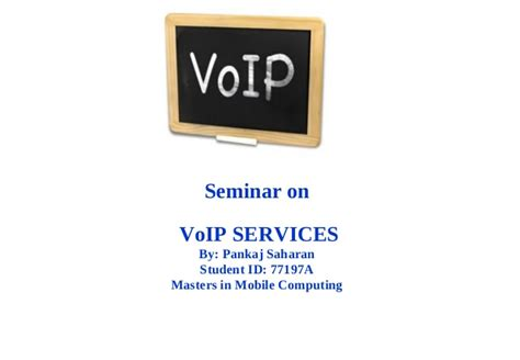 mobile voip service voip services