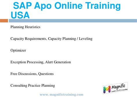 online tutorial in usa sap apo online training in usa