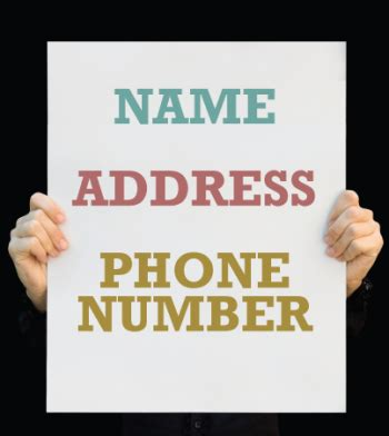 Phone Service Provider Lookup By Address Consistent Name Address Phone Nap Listings Crucial To Ranking