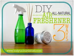 Air Fresheners Non Toxic Diy All Air Freshener 3 Ways