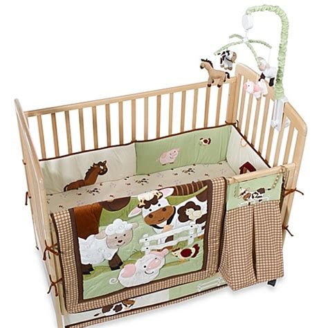 Bed Bath And Beyond Crib Bedding Farm Babies Crib Bedding And Accessories By Nojo 174 Bed Bath Beyond