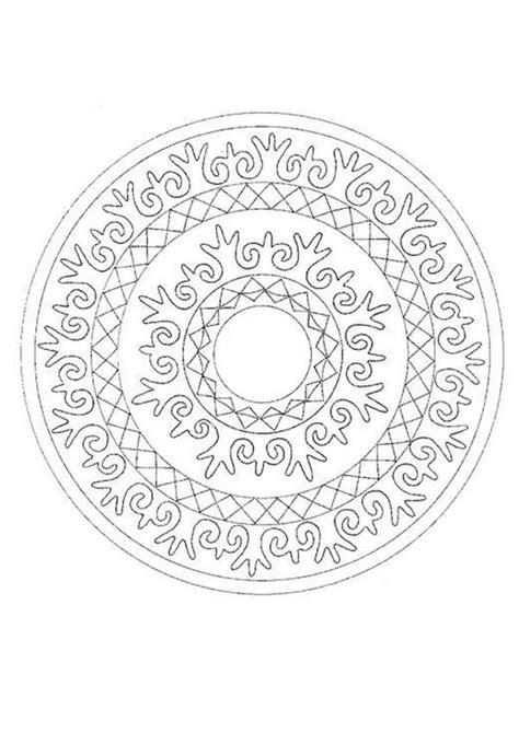 www mandala desenhos para colorir de mandala com coroas para colorir