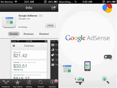 google adsense android app now available official google adsense application for iphone is now