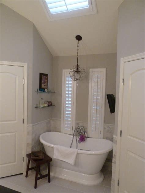 master bath remodel in sherwin williams repose gray