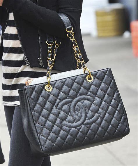 Chanel Gst Caviar Ghw 5266 chanel black caviar gst grand shopping tote ghw artlistings